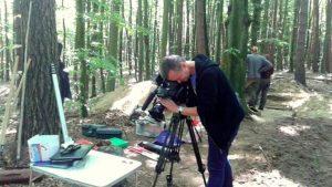 Na miejscu badań pojawiła się ekipa Telewizji Polskiej. Materiał z terenu obejrzeć można tutaj.
